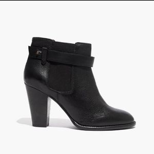 ⬇️Madewell black Lonny Ankle booties in size 8⬇️